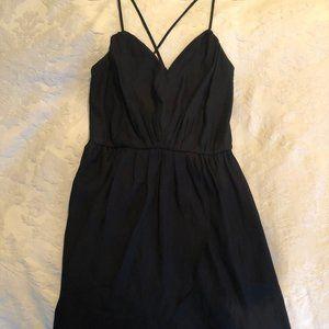 LBD: Black BCBGeneration Mini-dress w Pockets